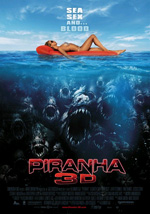 Poster Piranha 3D  n. 3