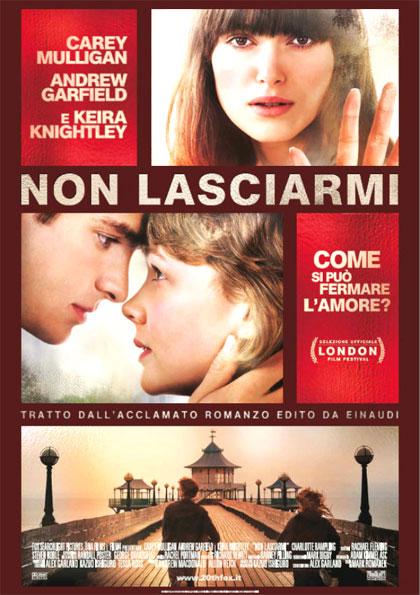 Locandina italiana Non lasciarmi