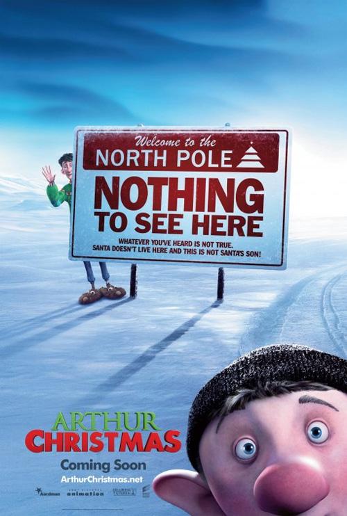 Poster Il figlio di Babbo Natale 3D