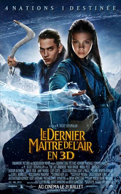 Poster 9 - L'ultimo dominatore dell'aria The Last Airbender 2 Movie Go Stream