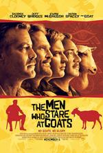 Poster L'uomo che fissa le capre  n. 3