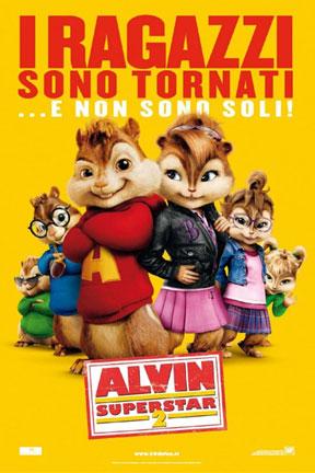 Locandina italiana Alvin Superstar 2