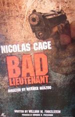 Poster Il cattivo tenente - Ultima chiamata New Orleans  n. 1
