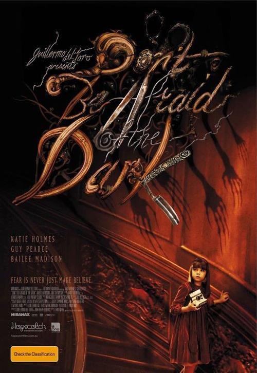 Poster Non avere paura del buio