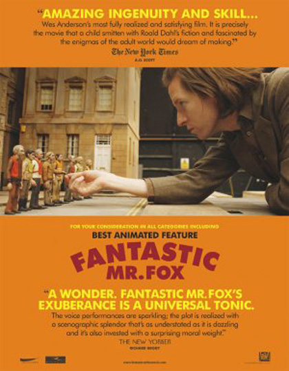 Poster Fantastic Mr. Fox