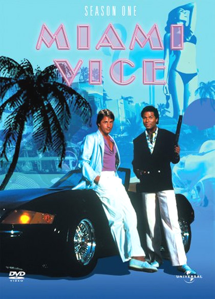 Locandina italiana Miami Vice