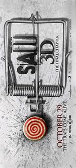 Poster Saw 3D  n. 5