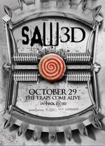 Poster Saw 3D  n. 7