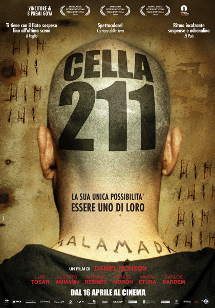 Locandina italiana Cella 211
