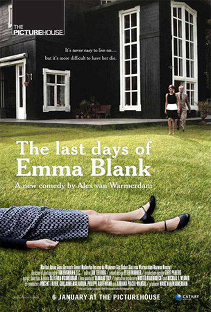 Poster The Last Days of Emma Blank