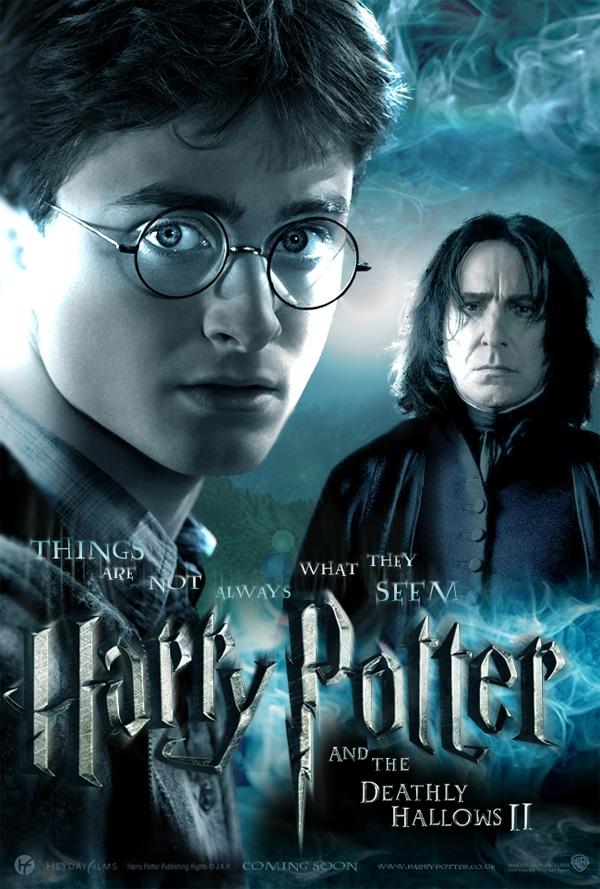Poster Harry Potter E I Doni Della Morte Parte Ii