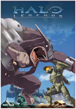 Locandina Halo Legends
