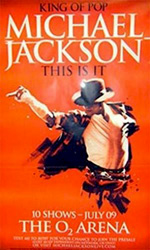 Poster Michael Jackson's This Is It  n. 4