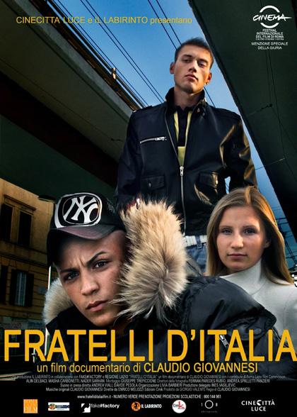 Locandina italiana Fratelli d'Italia