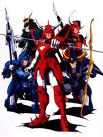 Poster I Cinque Samurai  n. 1