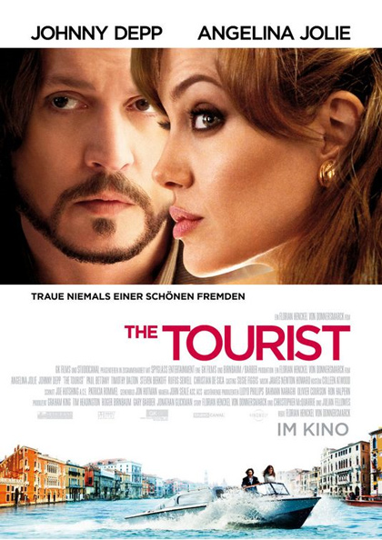 Poster The Tourist