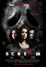 Poster Scream 4  n. 9