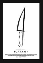 Poster Scream 4  n. 16