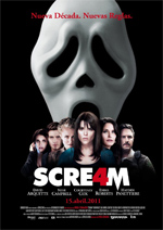 Poster Scream 4  n. 4