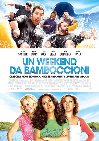 Locandina italiana Un weekend da bamboccioni