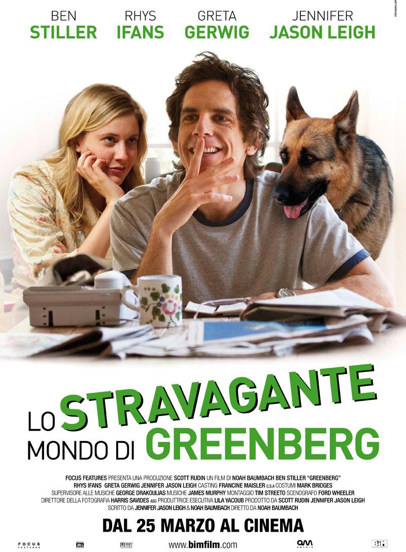 Poster Lo stravagante mondo di Greenberg