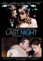Poster Last Night  n. 1