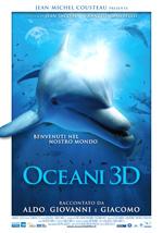Locandina Oceani 3D