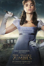 Poster Ppz - Pride and Prejudice and Zombies  n. 9