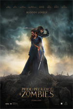 Poster Ppz - Pride and Prejudice and Zombies  n. 3