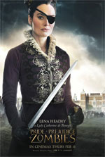 Poster Ppz - Pride and Prejudice and Zombies  n. 8