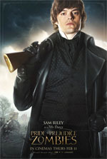 Poster Ppz - Pride and Prejudice and Zombies  n. 12