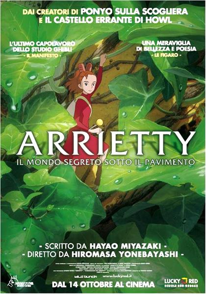 Locandina italiana Arrietty