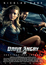 Poster Drive Angry 3D  n. 0