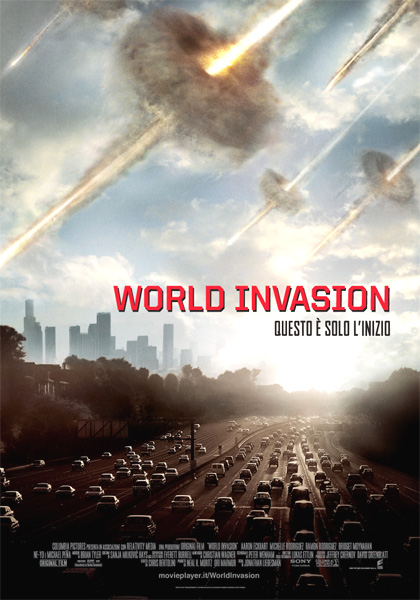 Locandina italiana World Invasion