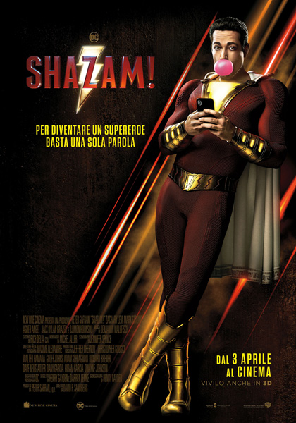 Shazam! streaming film completo altadefinizione ita hd