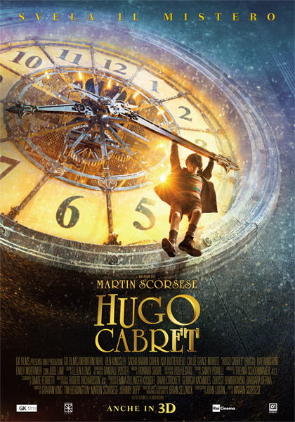 Locandina italiana Hugo Cabret