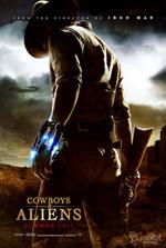 Poster Cowboys & Aliens  n. 2
