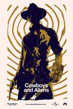 Poster Cowboys & Aliens  n. 3