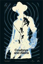 Poster Cowboys & Aliens  n. 4