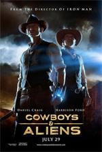 Poster Cowboys & Aliens  n. 5