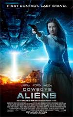 Poster Cowboys & Aliens  n. 9