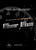 Poster Fast & Furious 5  n. 9