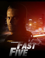 Poster Fast & Furious 5  n. 10