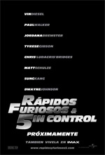 Poster Fast & Furious 5  n. 12