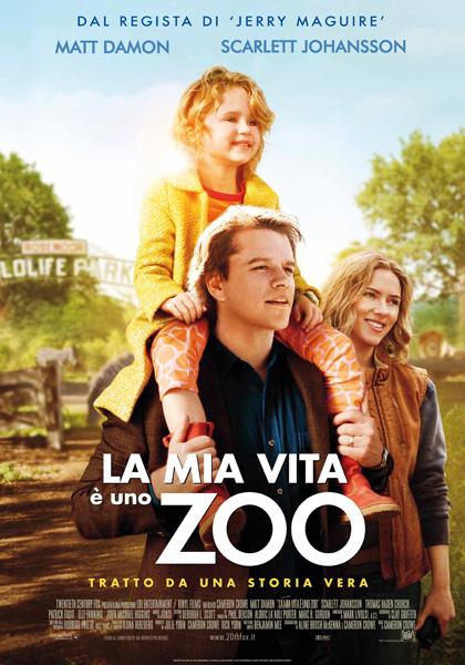 Locandina italiana La mia vita è uno zoo
