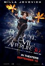 Poster Resident Evil: Afterlife  n. 18