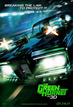 Poster The Green Hornet  n. 2
