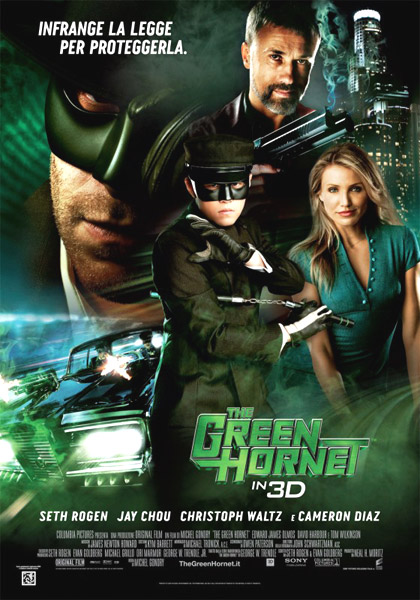 Locandina italiana The Green Hornet