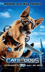 Poster Cani & Gatti - La vendetta di Kitty 3D  n. 1