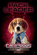 Poster Cani & Gatti - La vendetta di Kitty 3D  n. 10